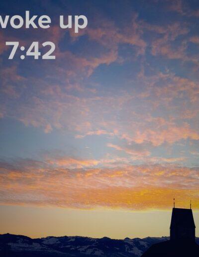 sunrise 1 - I woke up at - NFT Raphael Dudler