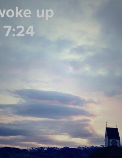 sunrise 10 - I woke up at - NFT Raphael Dudler