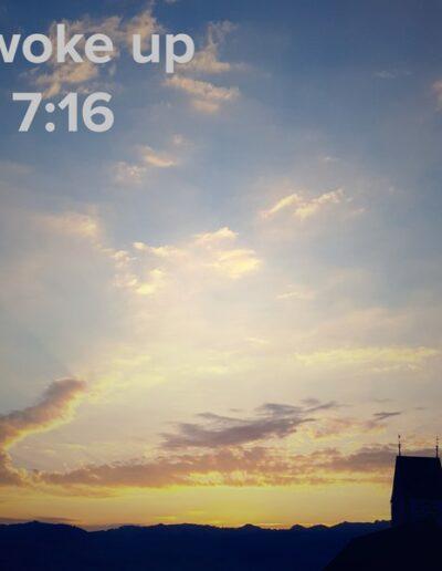 sunrise 100 - I woke up at - NFT Raphael Dudler