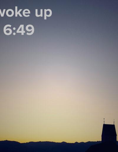 sunrise 102 - I woke up at - NFT Raphael Dudler