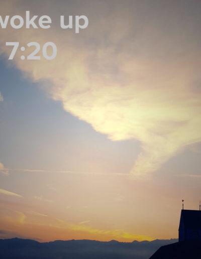 sunrise 104 - I woke up at - NFT Raphael Dudler