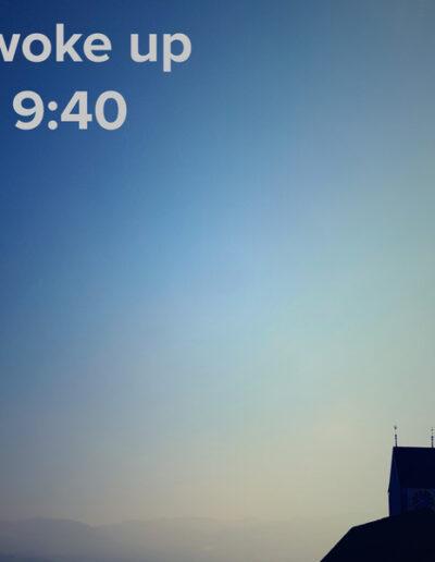 sunrise 106 - I woke up at - NFT Raphael Dudler