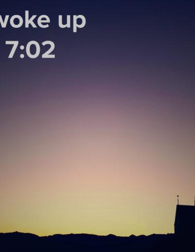 sunrise 109 - I woke up at - NFT Raphael Dudler