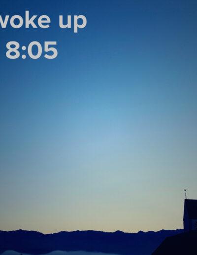 sunrise 110 - I woke up at - NFT Raphael Dudler