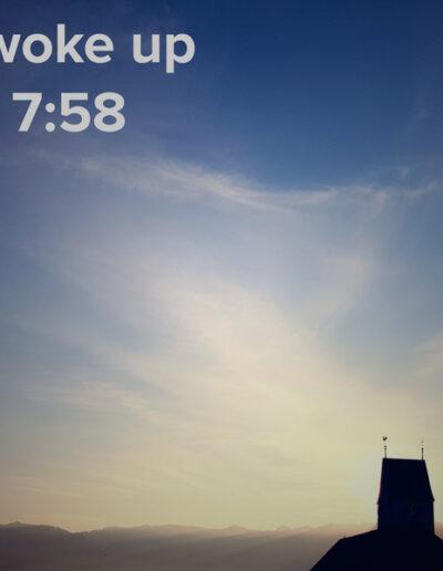 sunrise 111 - I woke up at - NFT Raphael Dudler