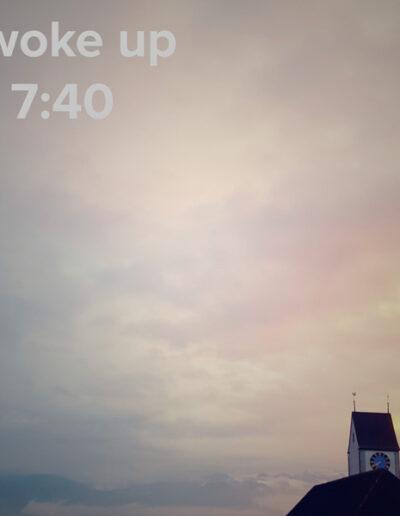 sunrise 116 - I woke up at - NFT Raphael Dudler