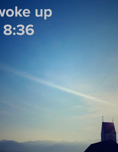 sunrise 120 - I woke up at - NFT Raphael Dudler