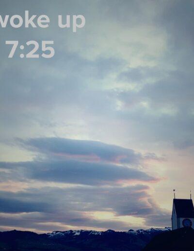 sunrise 123 - I woke up at - NFT Raphael Dudler