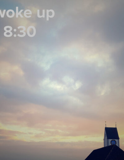 sunrise 124 - I woke up at - NFT Raphael Dudler