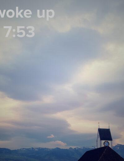 sunrise 128 - I woke up at - NFT Raphael Dudler