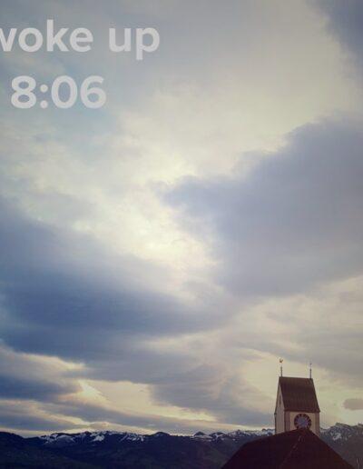 sunrise 129 - I woke up at - NFT Raphael Dudler
