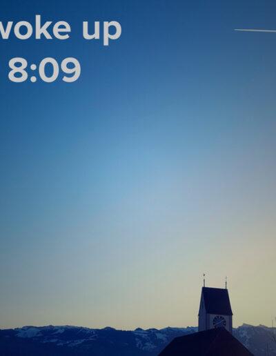 sunrise 13 - I woke up at - NFT Raphael Dudler