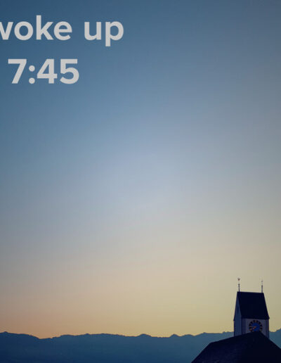 sunrise 130 - I woke up at - NFT Raphael Dudler