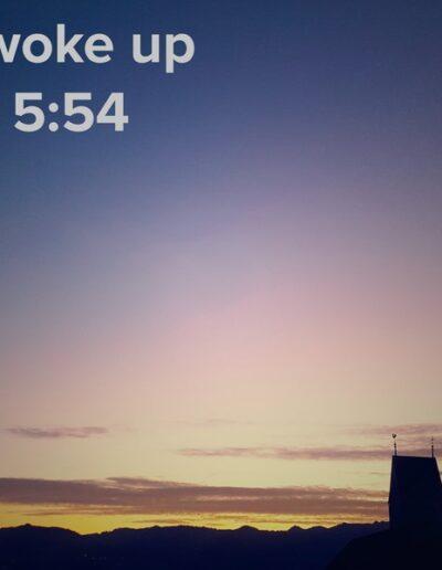 sunrise 134 - I woke up at - NFT Raphael Dudler