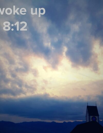 sunrise 135 - I woke up at - NFT Raphael Dudler
