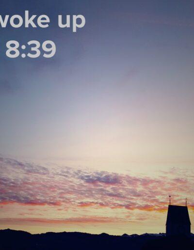 sunrise 136 - I woke up at - NFT Raphael Dudler