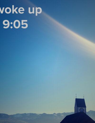 sunrise 14 - I woke up at - NFT Raphael Dudler