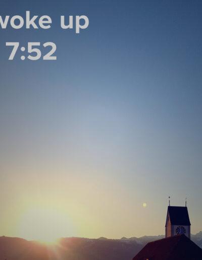 sunrise 19 - I woke up at - NFT Raphael Dudler