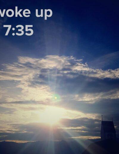 sunrise 2 - I woke up at - NFT Raphael Dudler