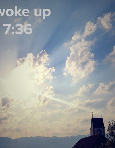 sunrise 23 - I woke up at - NFT Raphael Dudler