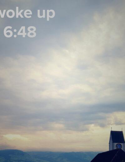 sunrise 27 - I woke up at - NFT Raphael Dudler