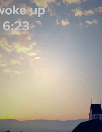sunrise 29 - I woke up at - NFT Raphael Dudler