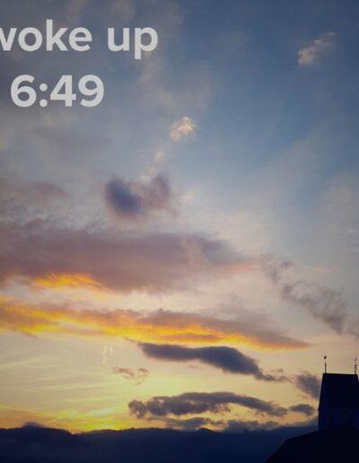 sunrise 3 - I woke up at - NFT Raphael Dudler