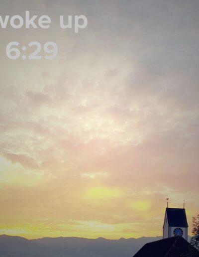 sunrise 30 - I woke up at - NFT Raphael Dudler