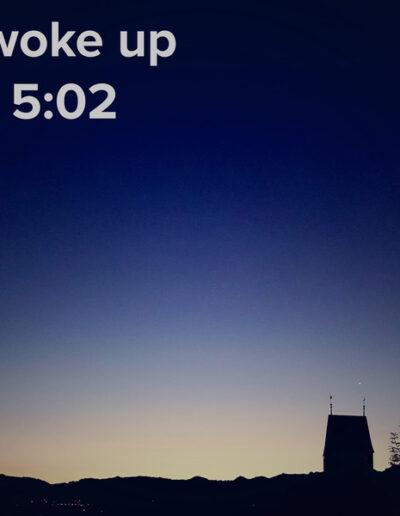 sunrise 34 - I woke up at - NFT Raphael Dudler