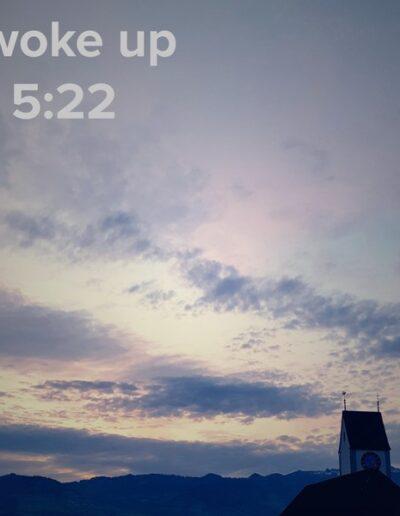 sunrise 36 - I woke up at - NFT Raphael Dudler
