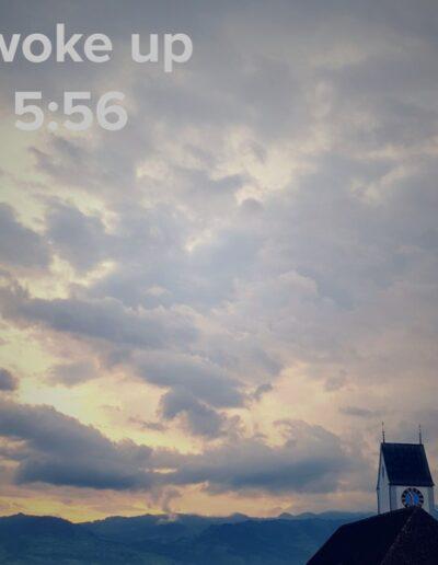 sunrise 37 - I woke up at - NFT Raphael Dudler