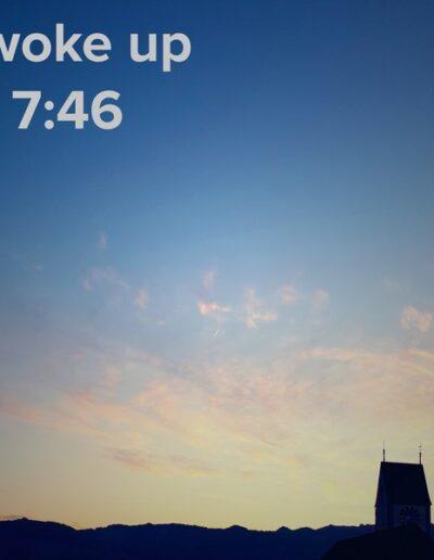 sunrise 38 - I woke up at - NFT Raphael Dudler