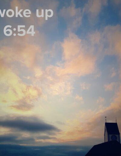 sunrise 39 - I woke up at - NFT Raphael Dudler