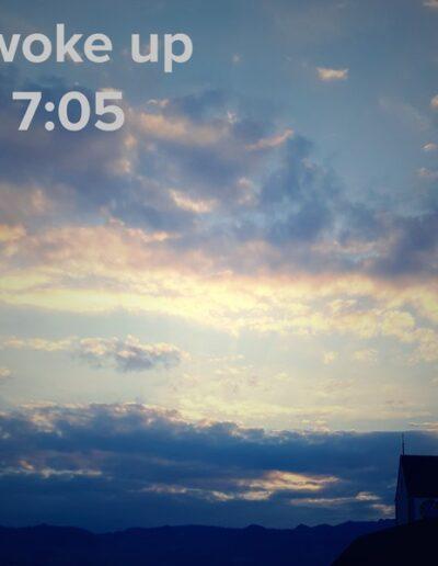 sunrise 4 - I woke up at - NFT Raphael Dudler