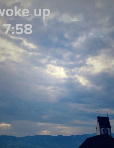 sunrise 40 - I woke up at - NFT Raphael Dudler