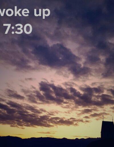 sunrise 41 - I woke up at - NFT Raphael Dudler
