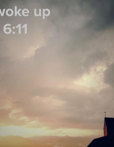 sunrise 42 - I woke up at - NFT Raphael Dudler