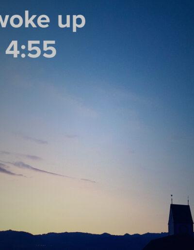 sunrise 43 - I woke up at - NFT Raphael Dudler