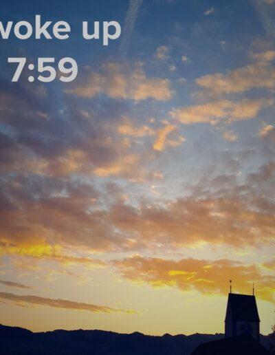 sunrise 44 - I woke up at - NFT Raphael Dudler