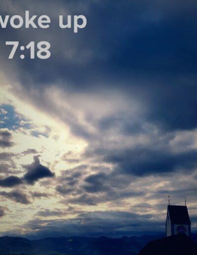 sunrise 46 - I woke up at - NFT Raphael Dudler
