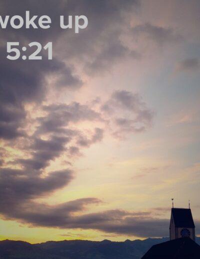 sunrise 49 - I woke up at - NFT Raphael Dudler