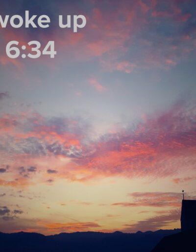 sunrise 5 - I woke up at - NFT Raphael Dudler
