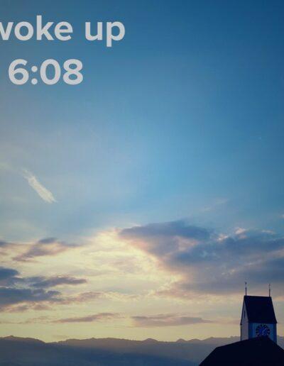 sunrise 50 - I woke up at - NFT Raphael Dudler