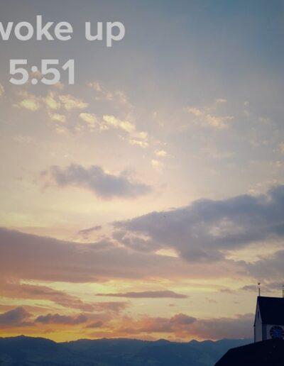 sunrise 51 - I woke up at - NFT Raphael Dudler