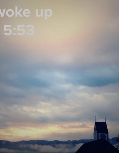 sunrise 52 - I woke up at - NFT Raphael Dudler