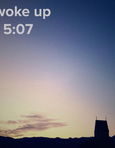 sunrise 53 - I woke up at - NFT Raphael Dudler
