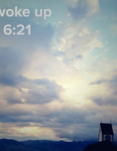 sunrise 54 - I woke up at - NFT Raphael Dudler