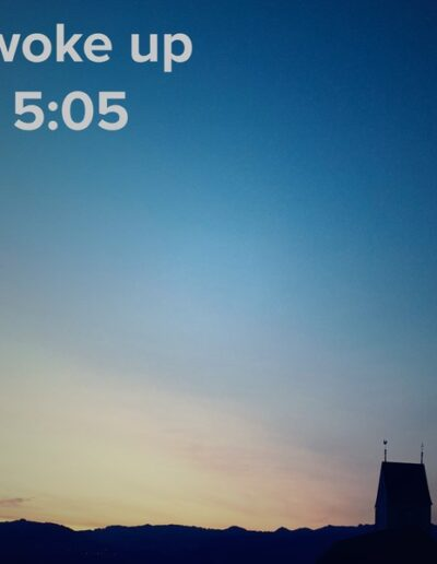 sunrise 55 - I woke up at - NFT Raphael Dudler