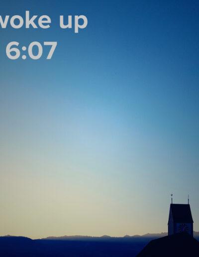 sunrise 56 - I woke up at - NFT Raphael Dudler