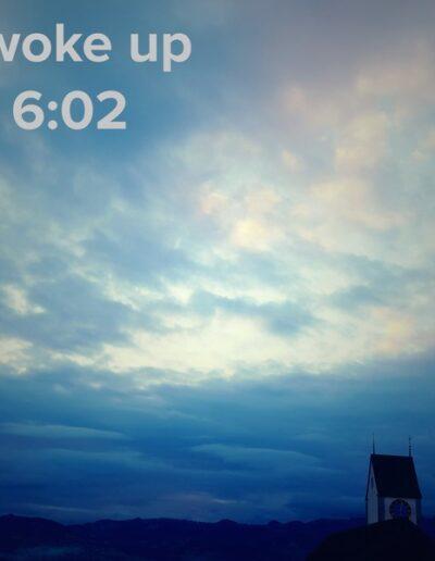sunrise 58 - I woke up at - NFT Raphael Dudler